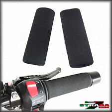Strada 7 Motorcycle Anti Vibration Grip Covers Universal Fits ALL Hand Grips