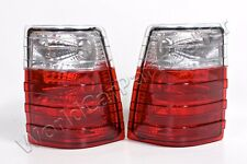 MERCEDES W123 Wagon T Model S123 1977-1985 Rear Lamps Tail Lights Red Clear Pair
