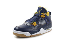 NIKE AIR JORDAN RETRO 4 IV DUNK FROM ABOVE SZ 9 MID NIGHT NAVY 308497-425