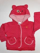 NWT GYMBOREE MIX N MATCH KITTY HOODIE JACKET GIRLS 3T 3 CAT FALL LINE QUILTED