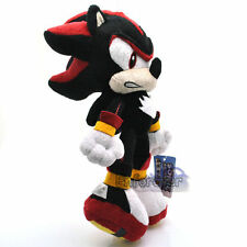 "New 9"" Shadow the Hedgehog Sonic Cute Rare Soft Plush Toy Doll/QT1866"