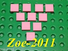 Lego Bright Pink Tile 1x1 10 pieces NEW!!!