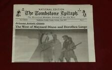 The Tombstone Epitaph 20 page National edition 6 collectible newspaper New Promo