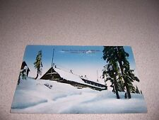 1910s GROUSE MOUNTAIN CHALET VANCOUVER BC. ANTIQUE POSTCARD