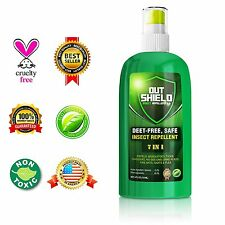 Insect Repellent Mosquito Repel Bugs Off Spray Protection - 7 in 1 Natural DEET