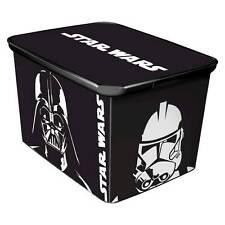 New Large Star Wars™ Plastic Storage Bin for Toys, Action Figures, Bricks & More