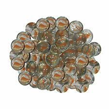Decorative Glass Stones,Size: 15 mm (approx.) : Flat Type: Wt: 250gm (approx.)