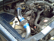 BLUE Cold Air Intake+ Air Filter For 90-95 Ford Thunderbird 3.8L V6 Supercharged