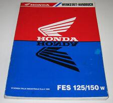 Werkstatthandbuch Honda FES 125 / 150 Motor Lichtmaschine Zylinder Stand 1998!