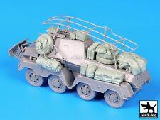 Black Dog 1/72 Funkspahwagen Sd.Kfz.263 Accessories Set (for Dragon 7444) T72058