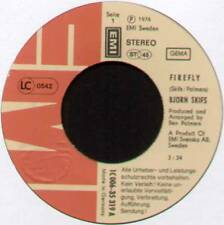 "[BLUE SWEDE] BJORN SKIFS ~ FIREFLY / GINGER ME ~ 1976 GERMAN 7"" SINGLE"