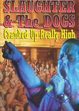 "NEW,SEALED AND OFFICIAL SLAUGHTER AND THE DOGS ""CRANKED UP REALLY HIGH"" DVD"