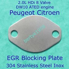 EGR Planking plate PEUGEOT CITROEN 2,000cc 8valve HDi DW10 ATED CARS ONLY block