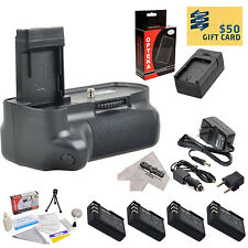 Battery Grip, 4X Batteries, Charger & More for Nikon D40 D40x D60 D3000 D5000