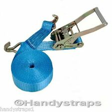 10 meter x 50mm Stainless Steel Ratchets Tie Down Straps Lorry Lashing