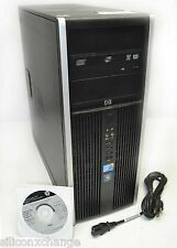 64BIT BUSINESS LINE HP 8000 ELITE 7 PRO CORE 2D 3GHZ 6GB RAM 500G TOWER COMPUTER
