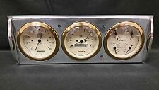 1941 1942 1943 1944 1945 1946  CHEVY TRUCK 3 GAUGE CLUSTER GOLD