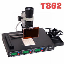T862 IR Infrared Soldering REWORK STATION Heating SMT SMD IRDA BGA WELDER USA