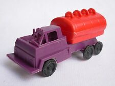 CAMION AUTOBOTTE PLASTICA ANNI '60 TANKER TRUCK TOY VINTAGE 1/87 ITALY