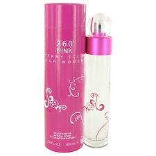 Perry Ellis 360 Pink Perfume 3.4oz Eau De Parfum MSRP $65 NIB