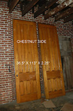 ANTIQUE  POCKET DOOR  ARCHITECTURAL SALVAGE,   WALNUT AND  CHESTNUT 2 AVAILABLE