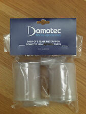 Domotec DSG51 Scale Filter for DSG33 iron Pack of 2 Filters