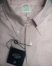 Brooks Brothers Button Down Oxford Shirt ~ Milano Fit ~ New 15 x 32 NWT USA $140