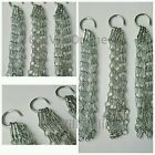"""3pc Chain Metal Plantopia Garden Easy Fill Hanging Basket Silver Spare Chain 17"""""""