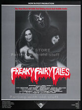 DEADTIME STORIES aka FREAKY FAIRY TALES__Original 1984 Trade AD__movie promo