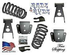 """1980-1996 Ford F100 F150 2WD 3""""-4"""" Lowering Kit Springs Shackles Hangers Extende"""