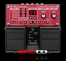 BOSS RC-30 TWIN LOOP STATION RC30 LOOPER 5 YR WARRANTY AUTHORISED ROLAND DEALER
