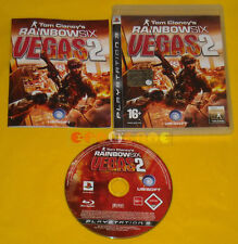 TOM CLANCY'S RAINBOW SIX VEGAS 2 Ps3 Versione Ufficiale Italiana »»»»» COMPLETO