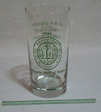 Wayne State University Athletic Hall of Fame Cocktail Glass Tumbler 1994