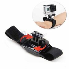 360 Rotation Wrist Hand Strap Band Mount Holder for GoPro Hero 1 2 3 3+ 4 Camera