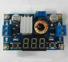 5A DC-DC Adjustable 99 UK Module + A Voltmeter Efficiency With Free Pillars