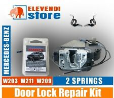 Mercedes C E Class W203 W209 W211 Door Lock Repair Kit - 2 x SPRINGS