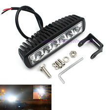 6Inch 18W 6LEDs 4WD Work Light Car SUV Offroad Fog Bar Spot Driving Lights New