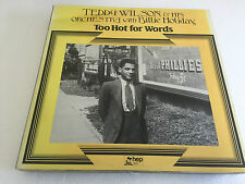 Teddy Wilson Orchestra Billie Holiday Too Hot For Words HEP 1012 VINYL LP NM/EX-