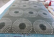 """Coffee / Brown 9' 6"""" x 13' 6"""" slightly damaged rug for reduced price SOH821B-10"""