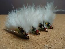 4 chats moustaches truite buzzers truite leurres dry fly fishing trout flies