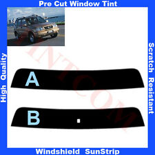 Pre Cut Window Tint Sunstrip for Suzuki Grand Vitara 5 Doors 1998-2005 Any Shade