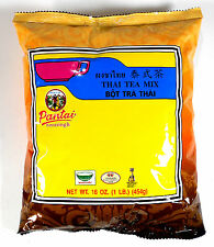 Best Thai Tea Leave Mix Pantai (Pantainorasingh) Brand 16 oz. / 1 Lb.