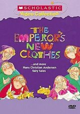 Scholastic DVD- Emperors New Clothes & More Hans Christian Andersen Fairy Tales
