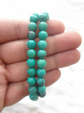 Turquoise (Green Hawlite) stone Bracelet BEADS 8mm