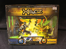 HASBRO XEVOZ BATTLING FIGURE KIT SHADOW BLADE BONE CUTTER BATTLE TERRAIN 2-PACK
