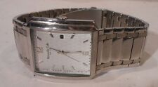 nice men's Kenneth Cole watch, diamond pattern face