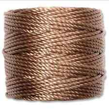 S-LON Heavy Macrame Cord Tex 400 knotting thread Medium Brown