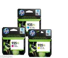 Lot de 3 hp 935xl Cyan Magenta Jaune Original OfficeJet Pro 6830 e-all-in-one