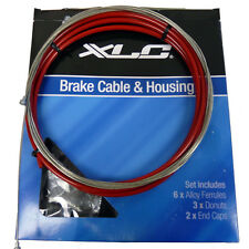 XLC Brake Cable Housing Kit 5mm x 3000mm-Red-Bicycle Cables-Universal-New