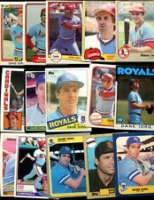 DANA IORG LOT OF 15 ALL DIFFERENT CARDINALS ROYALS EUREKA CALIFORNIA